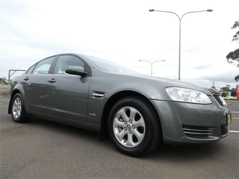 2011 HOLDEN COMMODORE 4D SEDAN OMEGA VE II