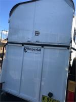 2010 IMPERIAL 2 HORSE SLX HORSE FLOAT Straight Load
