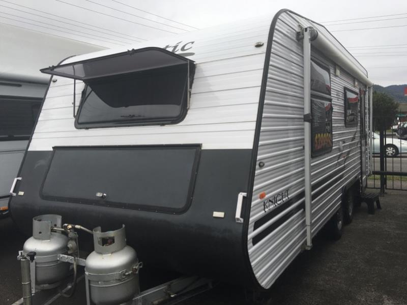 2010 MAJESTIC KNIGHT CARAVAN 18FT 6 X 7FT 9