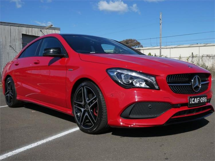2018 MERCEDES-BENZ CLA 4D COUPE 250 SPORT 4MATIC 117 MY18