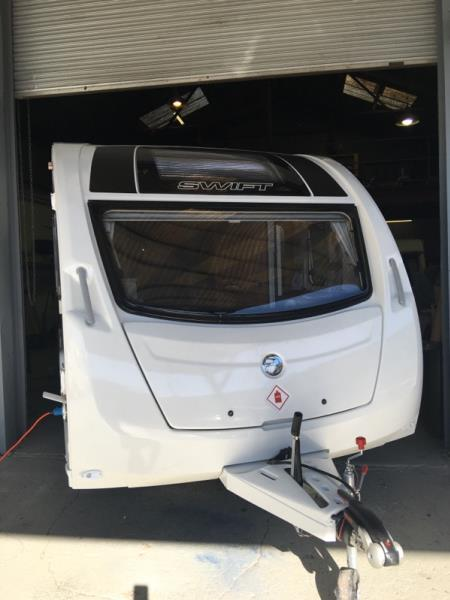 2016 SWIFT EXPLORER 4 CARAVAN 15FT 6