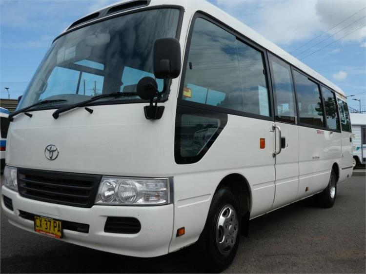 2010 TOYOTA COASTER BUS DELUXE XZB50R 07 UPGRADE