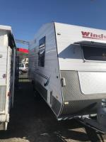 2011 WINDSOR GENESIS GC537/8S CARAVAN 17FT 6 X 8FT